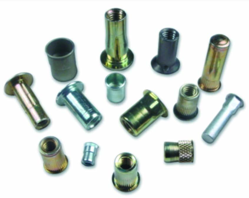Flared-Collar Knurled-Head Thumb Screw Brass Thread Size #10-24 FastenerParts