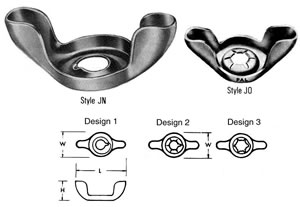 Palnut® Wing Type Lock Nuts
